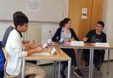 Jugend debattiert Schulentscheid